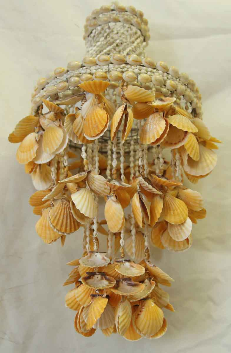 Vintage Shell Hanging Decor Olde Good Things
