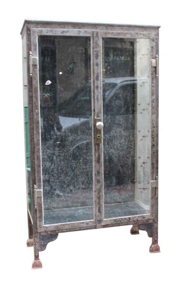 Dental Medical Cabinet with Beveled Glass