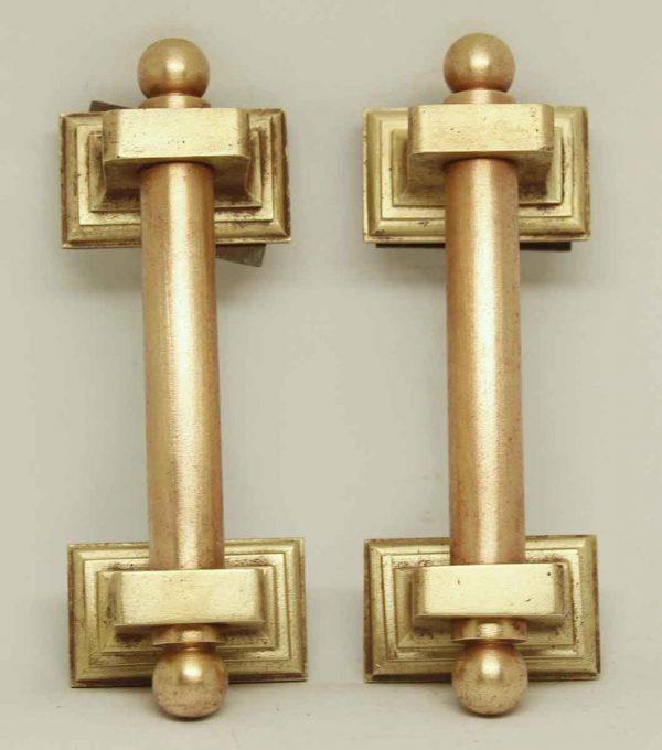 Polished Bronze Door Pulls