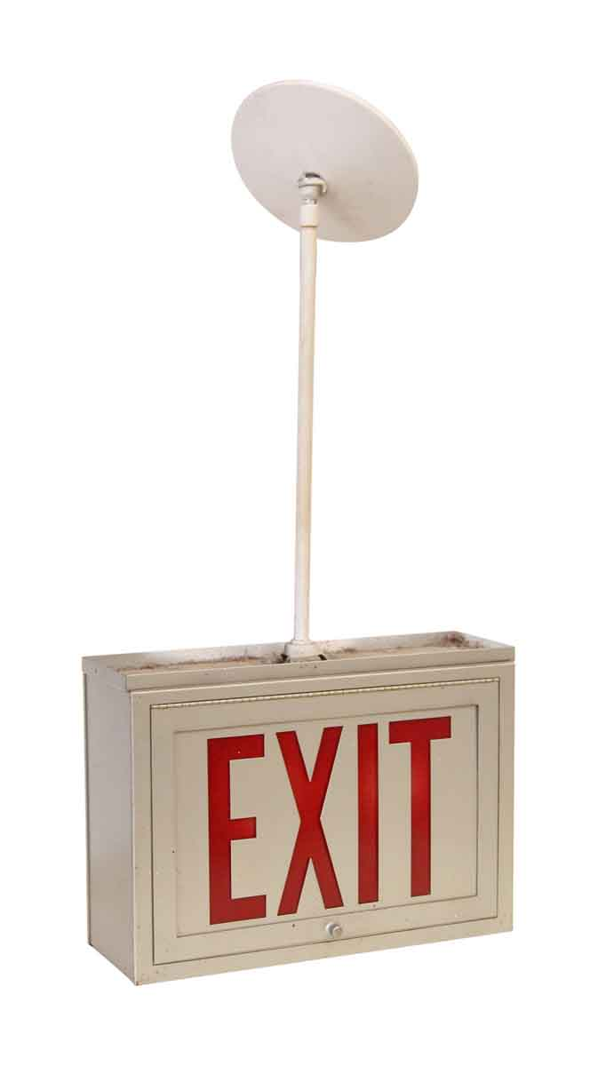 Ceiling Mounted Exit Sign Olde Good Things