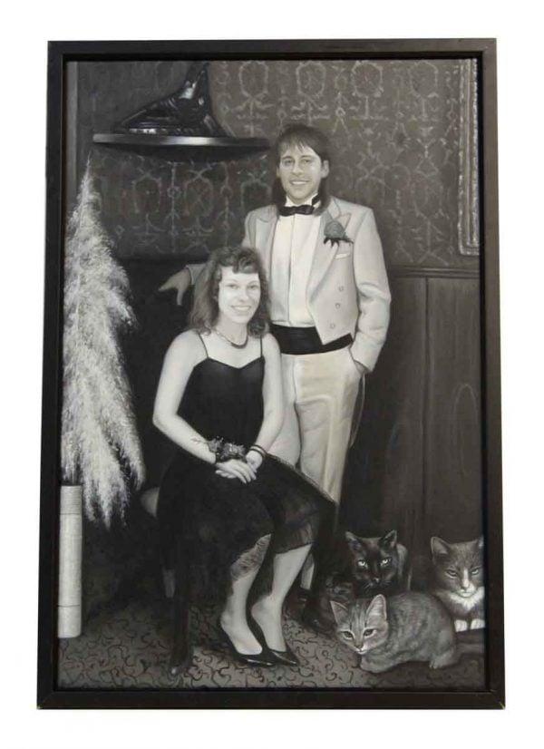 Black & White Framed Portrait