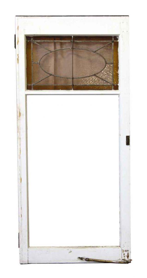 Large Push Open Leaded Window