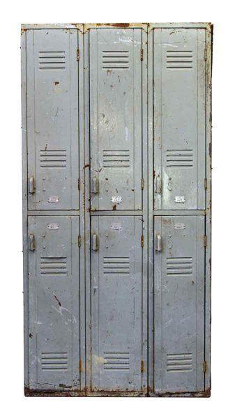 Very Worn Olde Metal Locker Unit