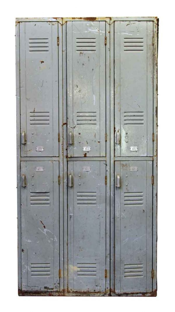 Very Worn Olde Metal Locker Unit