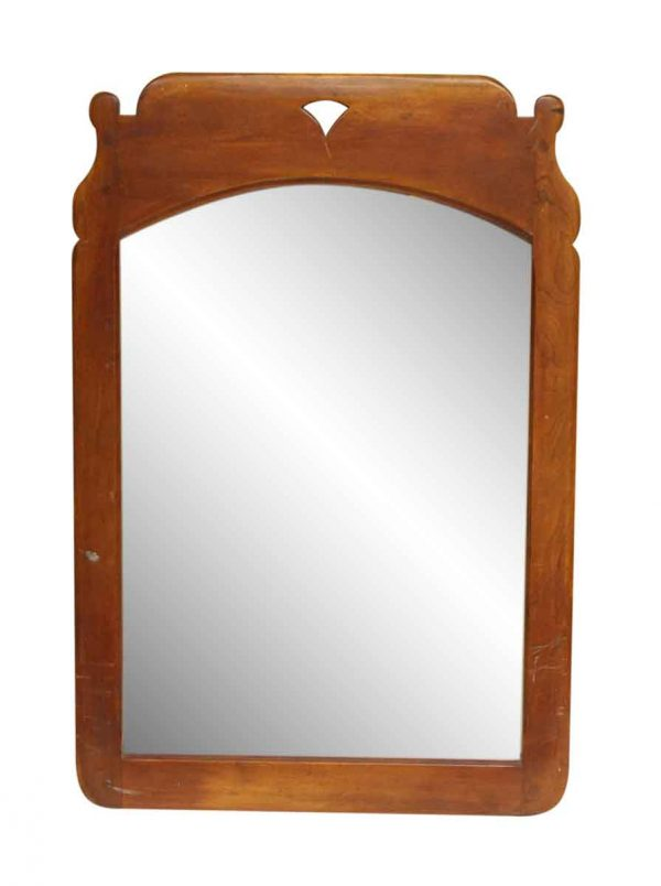 Vintage Maple Wall Mirror