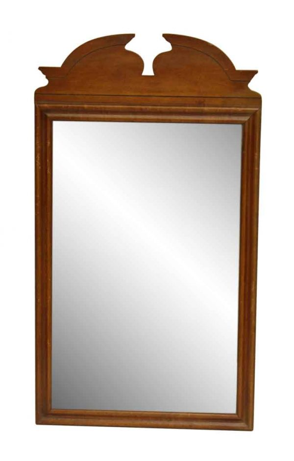 Vintage Maple Dresser Mirror
