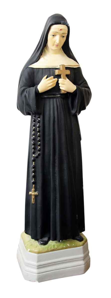 Ceramic Statue of a Nun