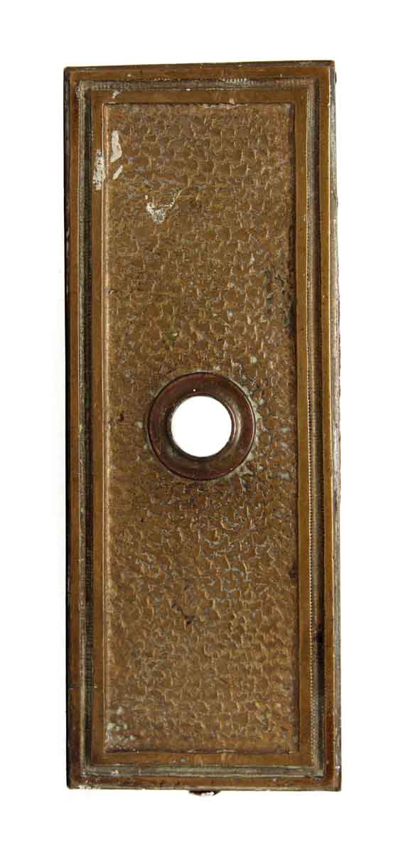 Bronze Textured Elevator Plate