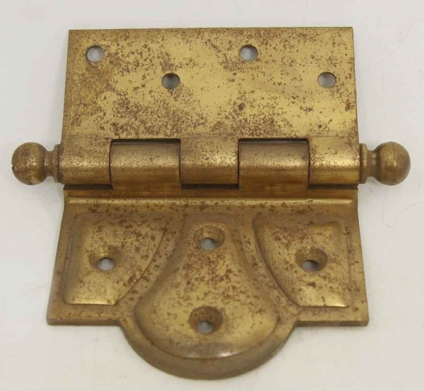 Pair of Olde New Stock Brass Stanley Butterfly Hinges
