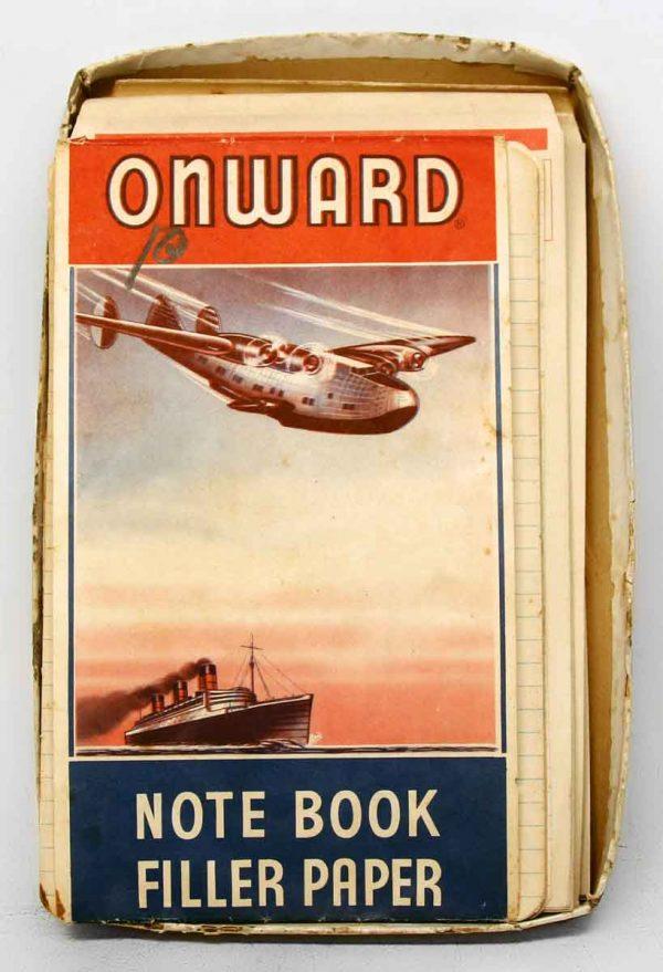 Lot of Vintage Onward Note Paper