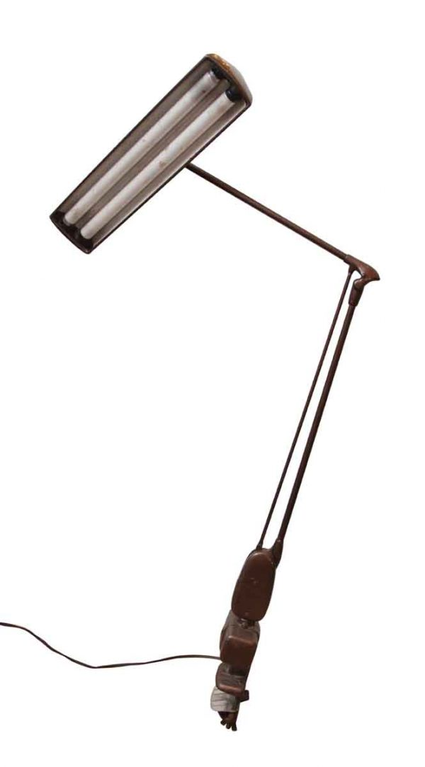 Industrial Clamp Desk Lamp