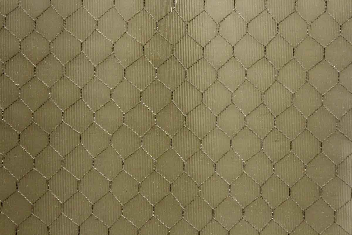 Chicken Wire Glass Nine Panel Metal Window Olde Good Things