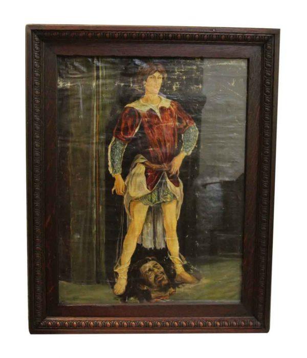 Antique of David & Goliath