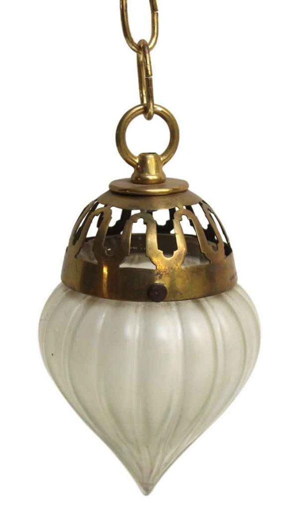 Small Glass Pendant Light