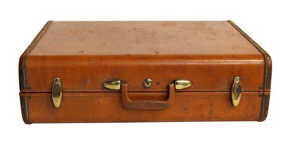 Vintage Samsonite Orange Suitcase