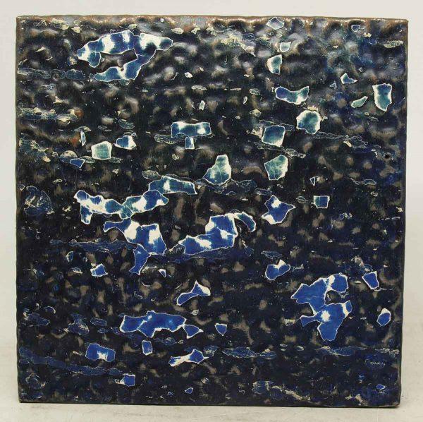 Royal Blue Textured Tin Panel