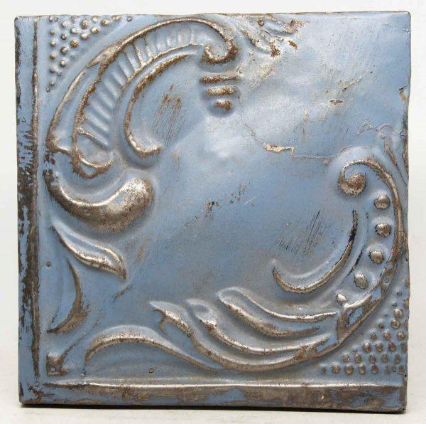 Corner Blue Tin Panel
