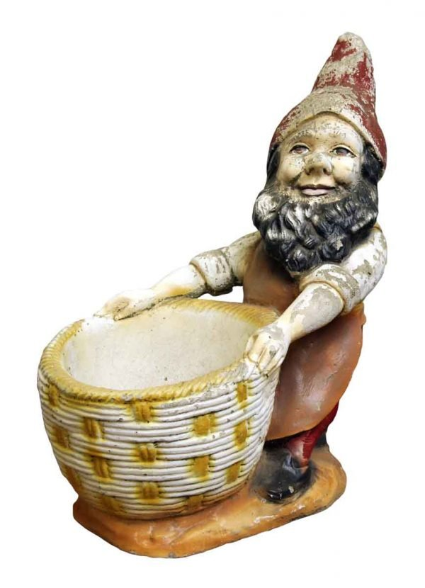 Worn Gnome Planter