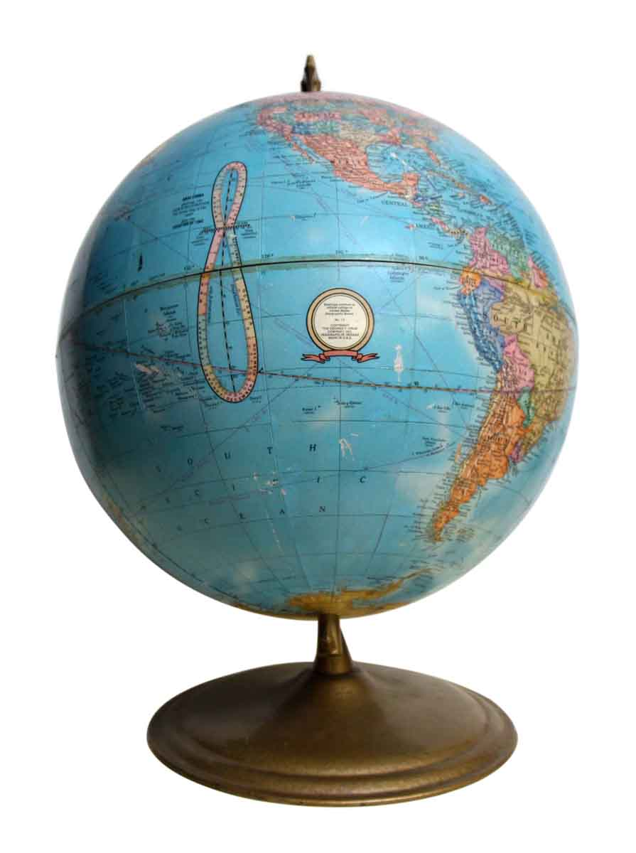 Cram S Imperial World Globe Olde Good Things