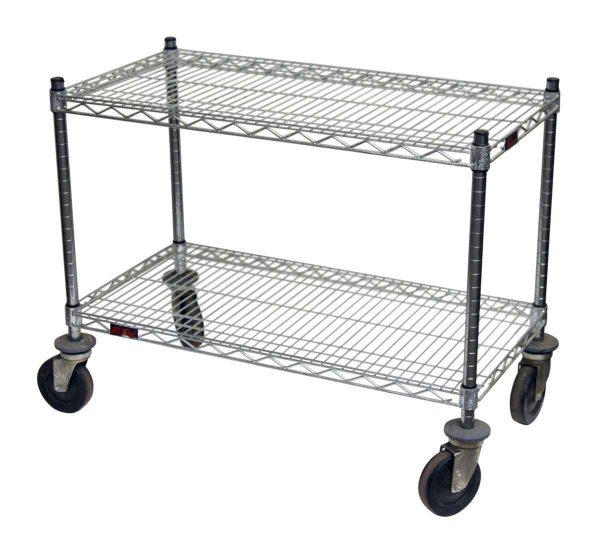 Chrome Seagle Rolling Cart