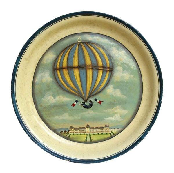 Decorative Hot Air Balloon Plate
