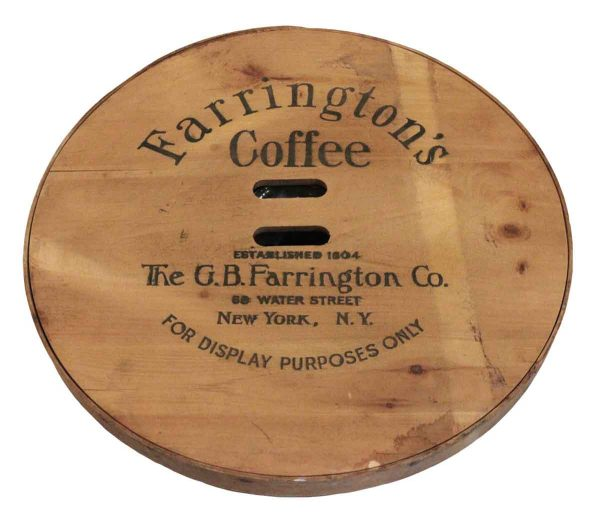 Farrington's Coffee Lid