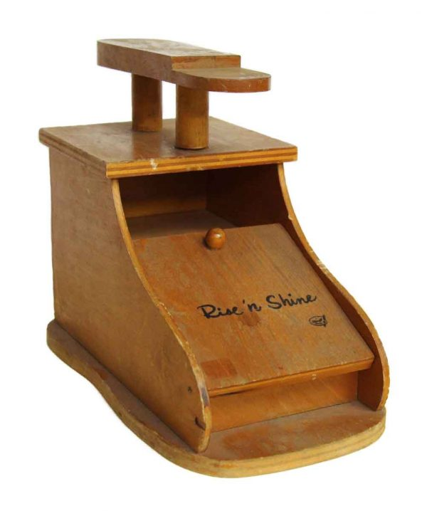 Olde Wood Rise N Shine Shoe Stand