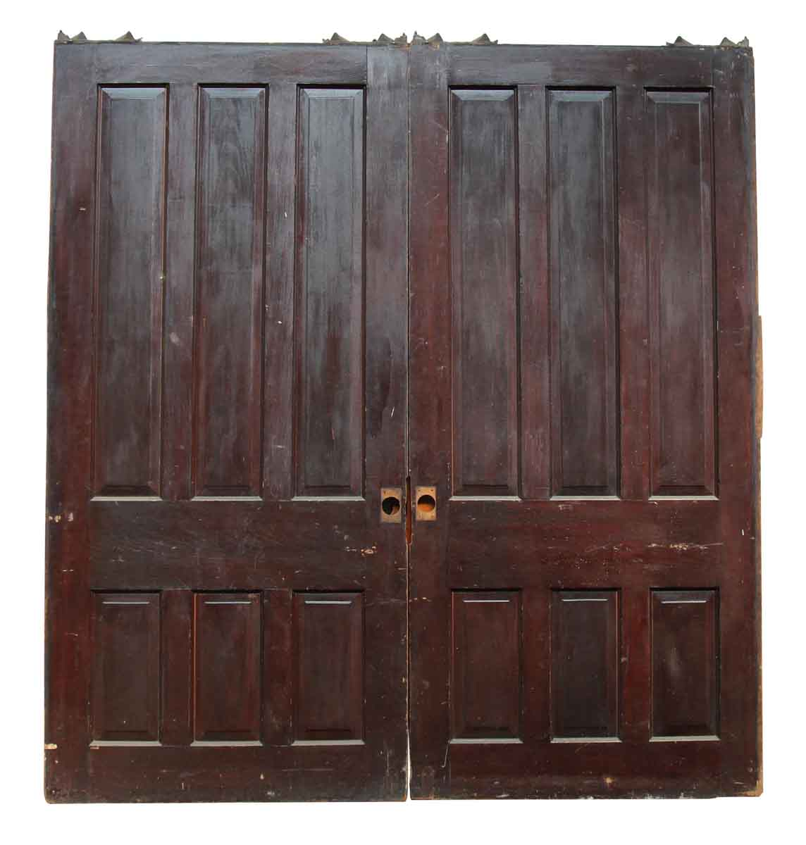 Pair of Large Double Pocket Doors | Olde Good Things