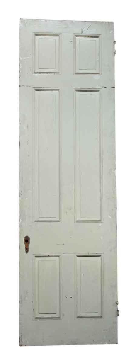 Single White & Tan Door