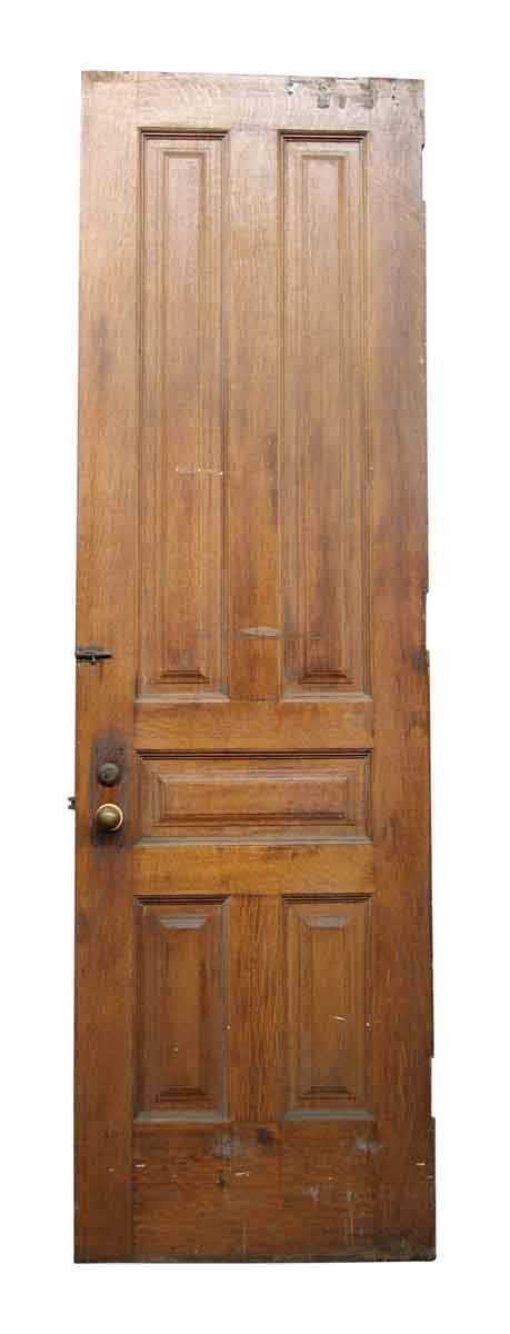 Single Five Bevel Paneled Door