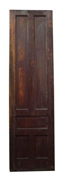 Single Tall Narrow Door