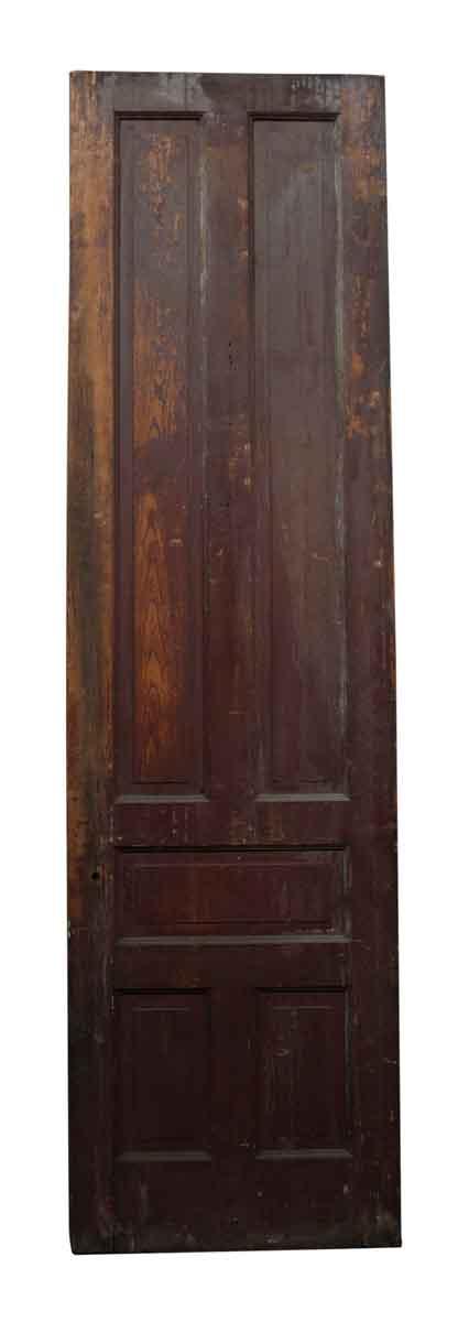 Single Tall Narrow Door