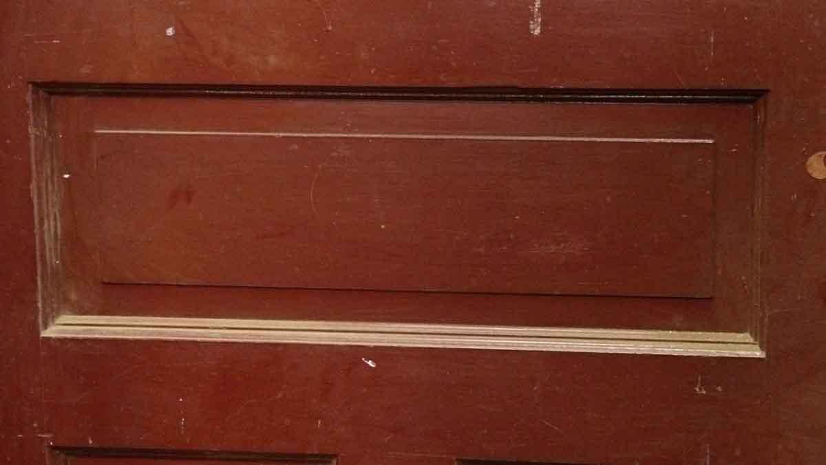Burgundy Double Door With Peephole Olde Good Things