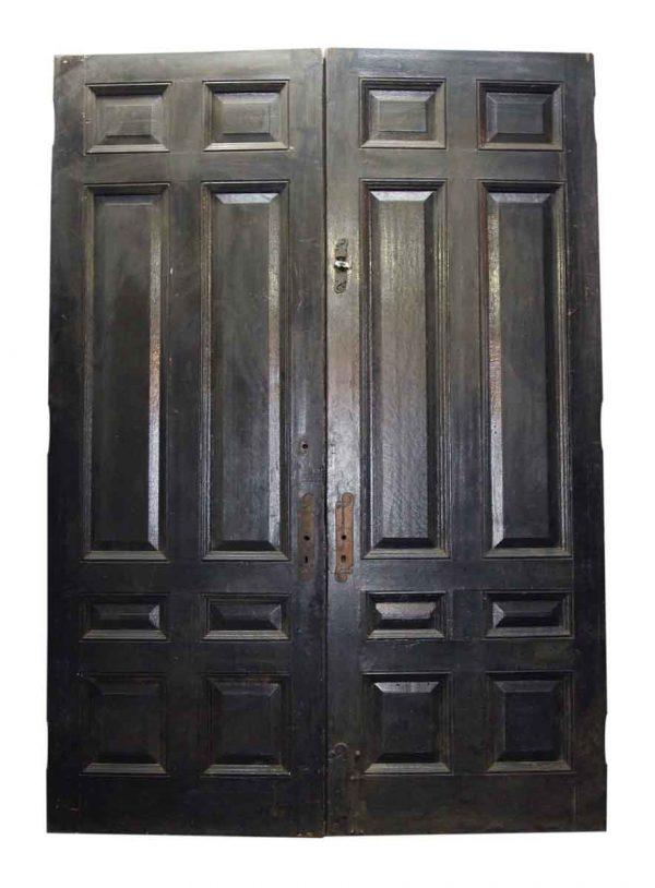Pair of Eight Panel Double Doors