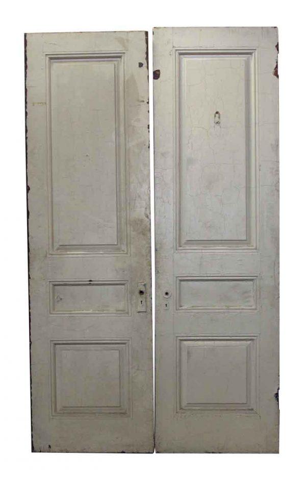 Pair of Three Panel Double Doors