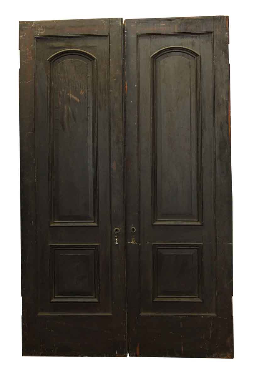 Pair of Two Arched Panel Doors | Olde Good Things