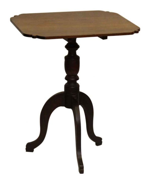 Three Leg Wooden Side Table
