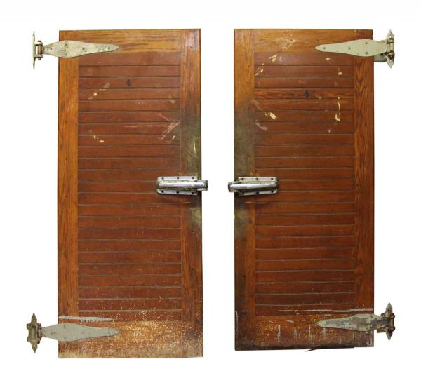Pair of Freezer Double Doors