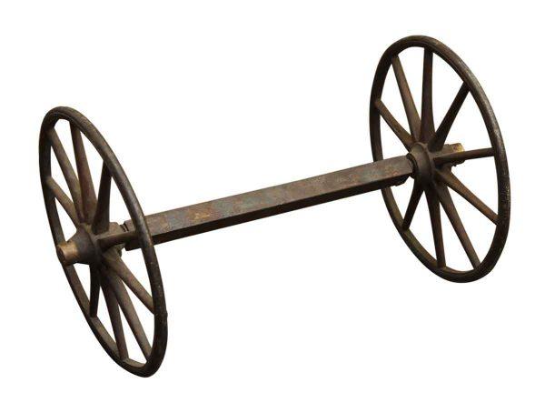 Decorative Iron Wagon Wheels