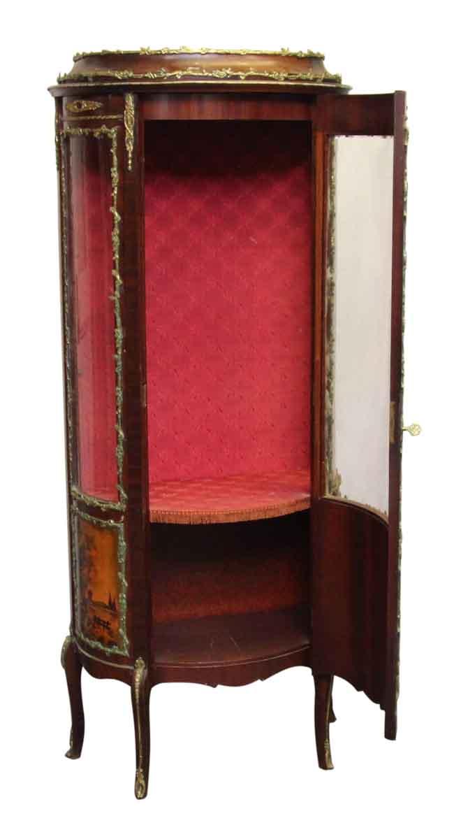 French Curio Cabinet - French Curio Cabinet Olde Good Things