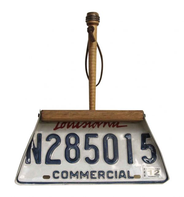 Louisiana License Plate Dust Pan