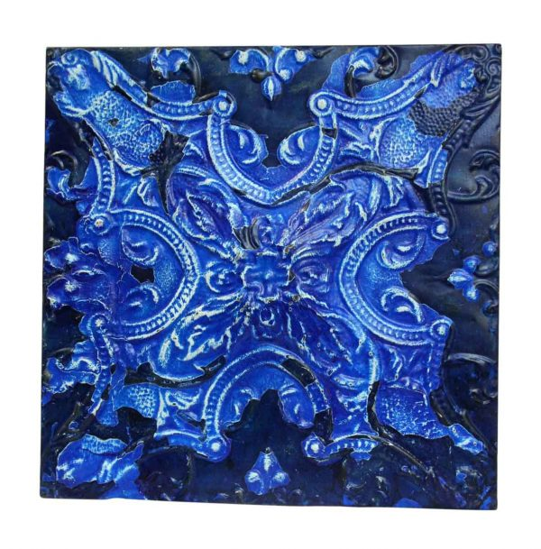 Royal Blue 4 Fold Tin Panel