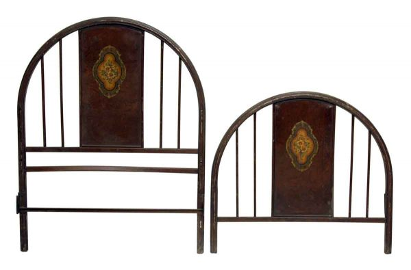Floral Arched Twin Bed Frame