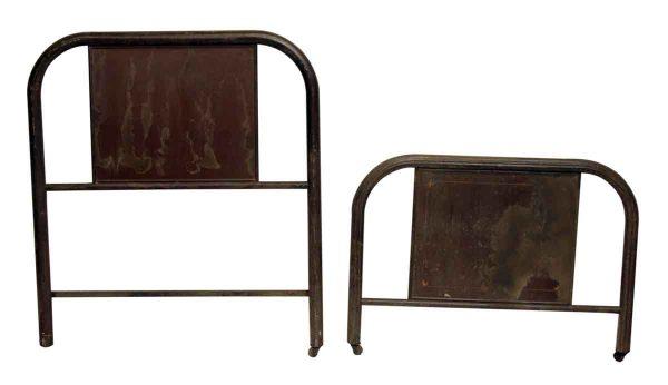 Metal Bed Twin Frame Set