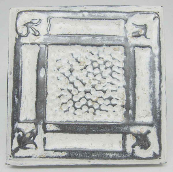 White Small Textured Tin Panel