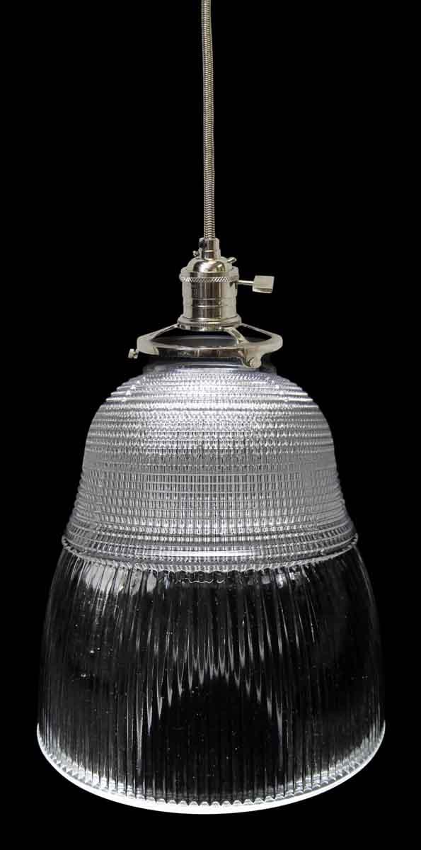 Rare Holophane Glass Shade