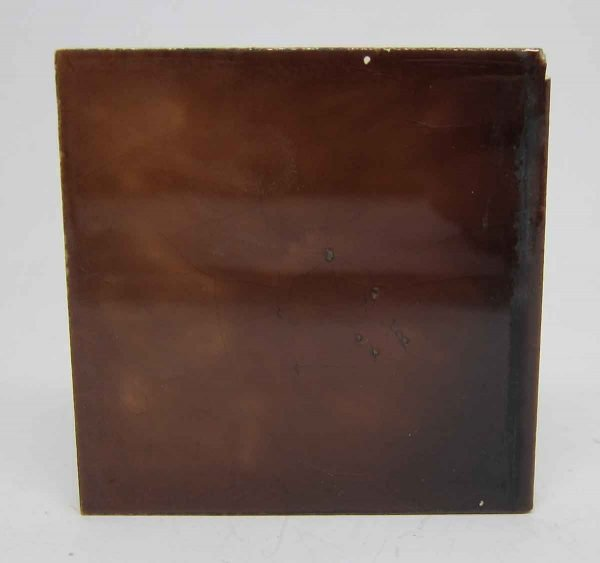 3 X 3 Brown Square Tile Set