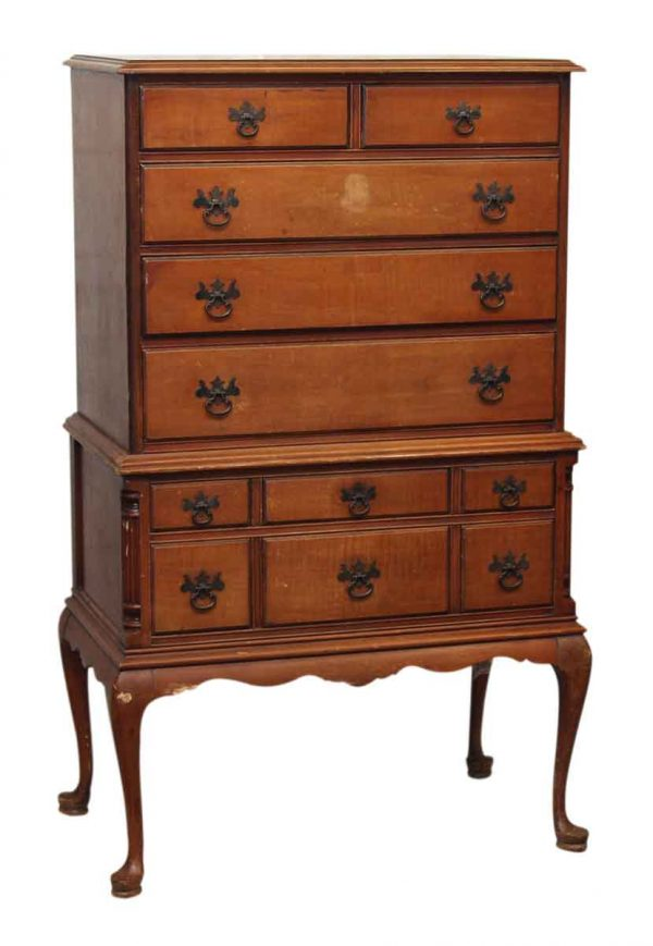 Eleven Drawer Highboy Dresser