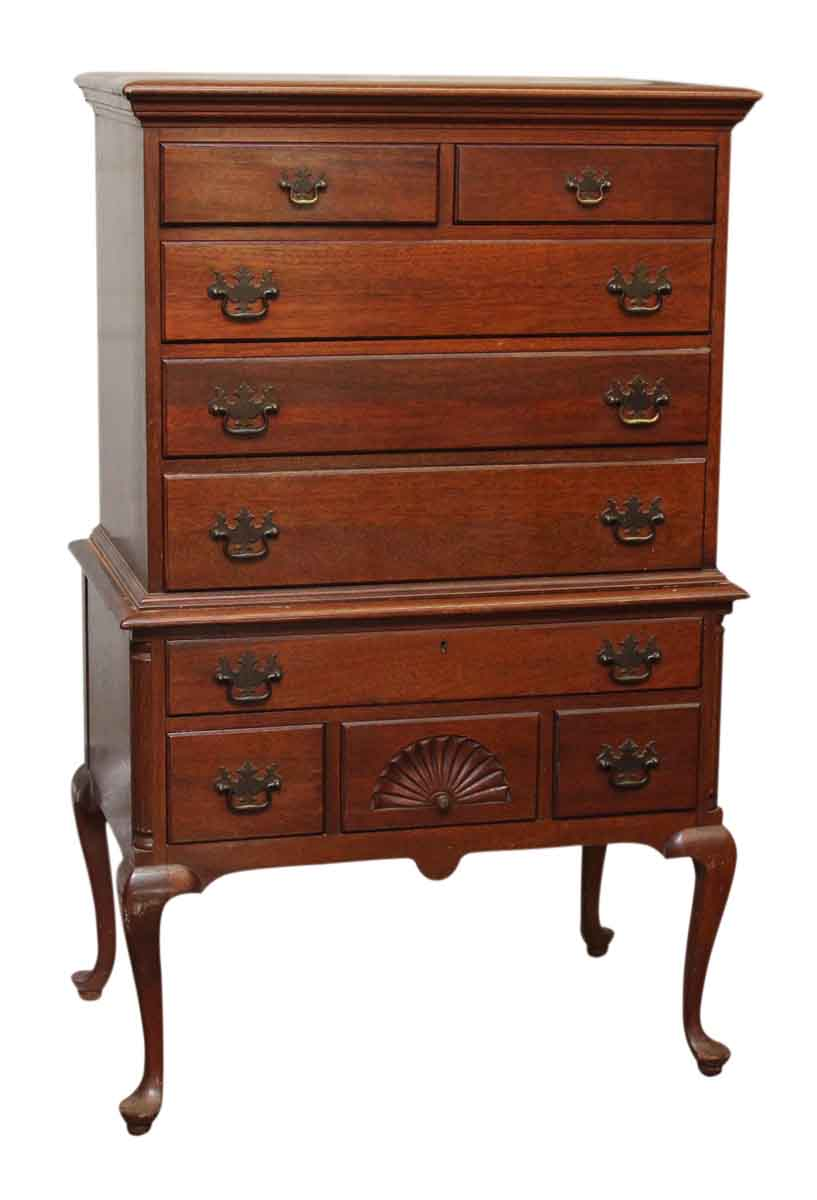 high boy dresser with nine drawers olde things 88753