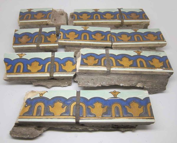 Decorative Matted Clay Tiles